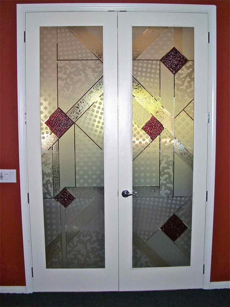 Etched Glass Doors Sans Soucie Art Glass
