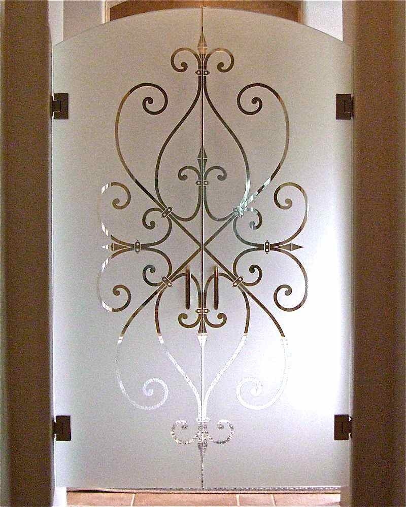 Frameless doors sans soucie art glass for Frameless interior glass doors