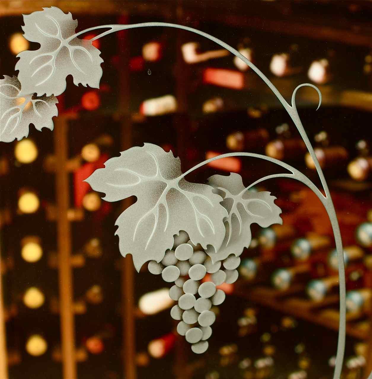 Sans Soucie Etched Glass Wine Room Door On Hgtv Sans Soucie