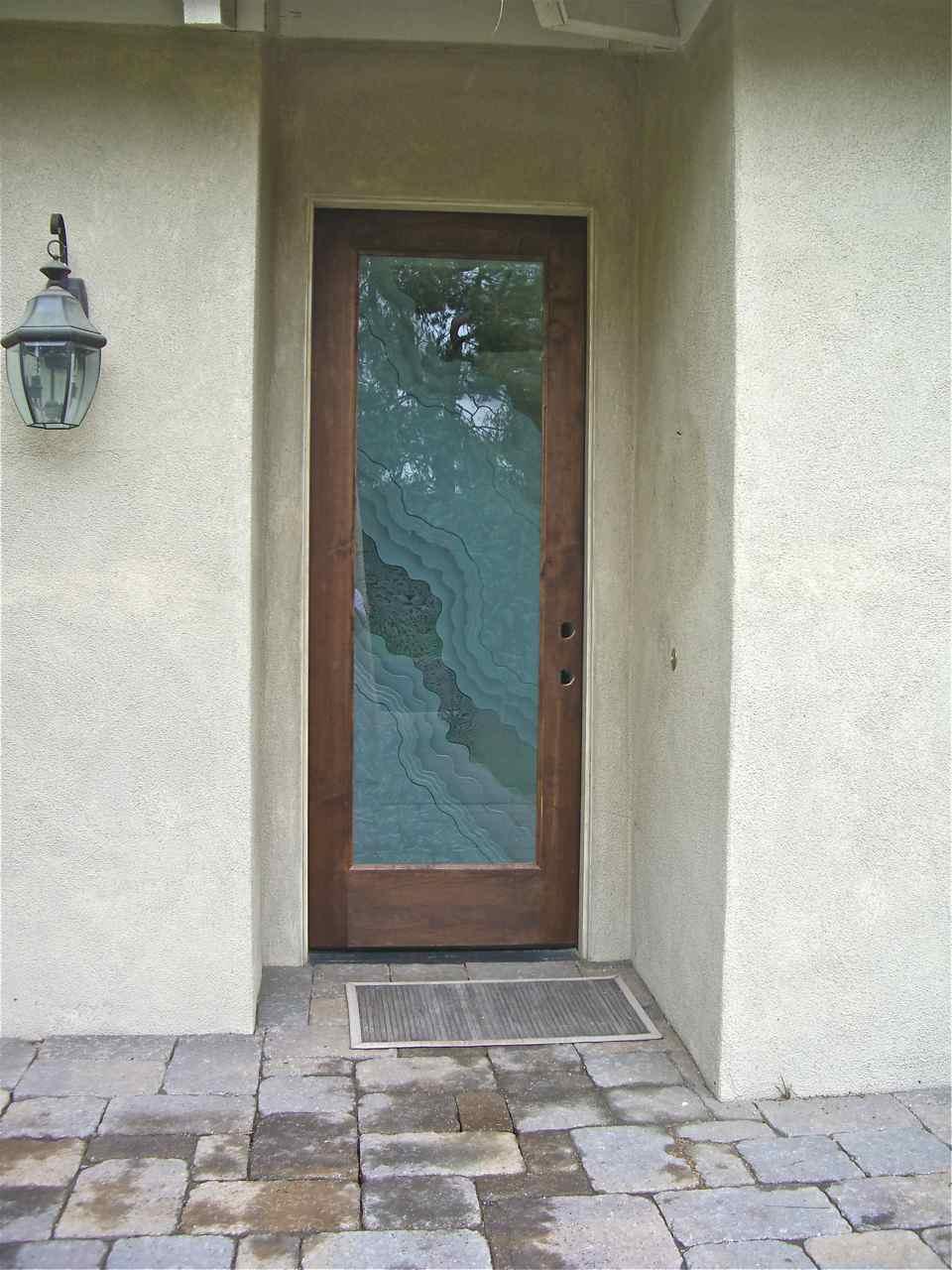Entry Door Glass Sans Soucie Art Glass
