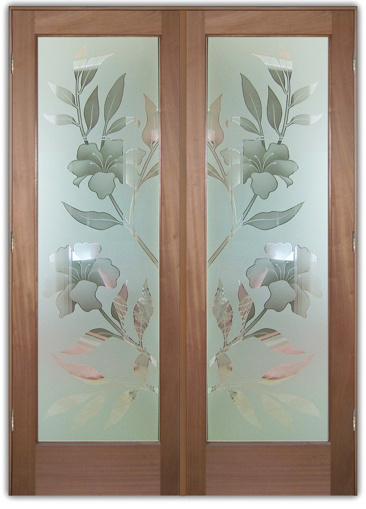 Etched Glass Designs With A Floral Feel Sans Soucie