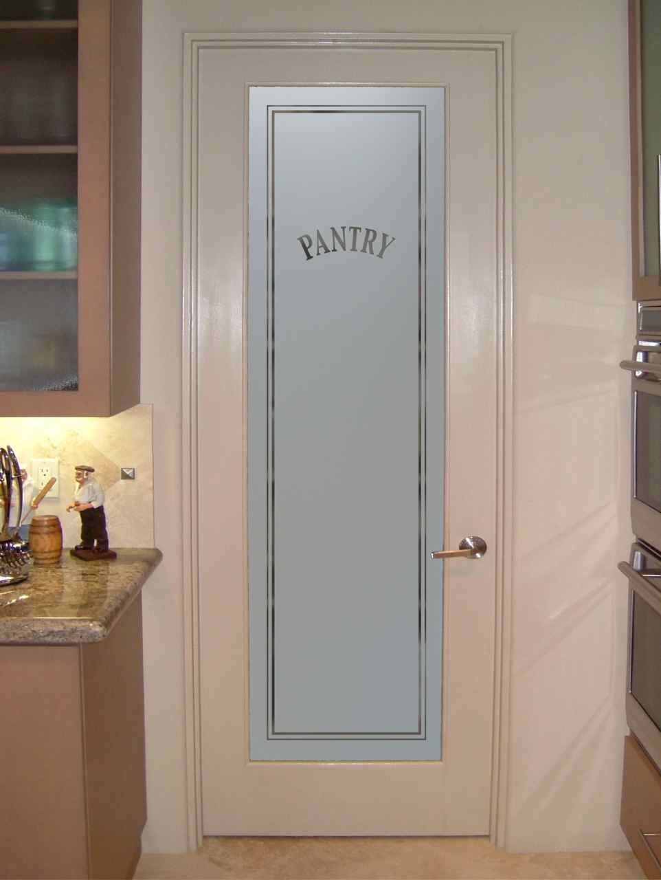 Pantry Doors With Frosted Glass Sans Soucie Art Glass
