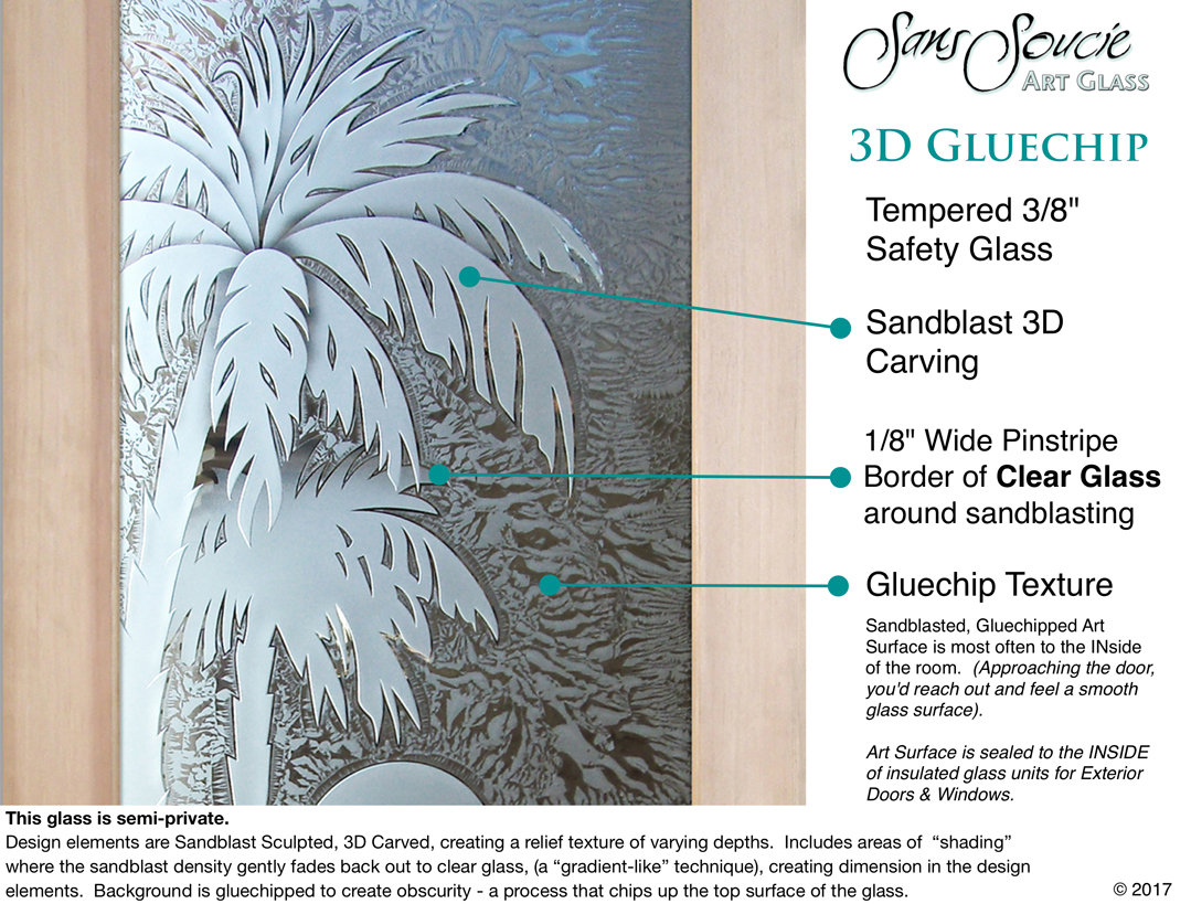 glass entry doors carved reeds