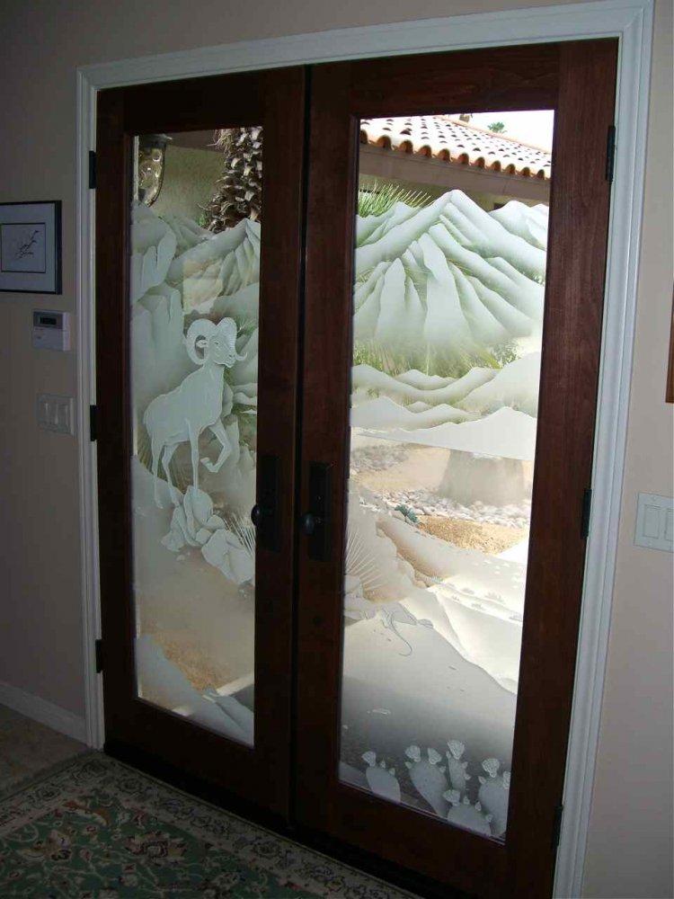 sans soucie art glass doors