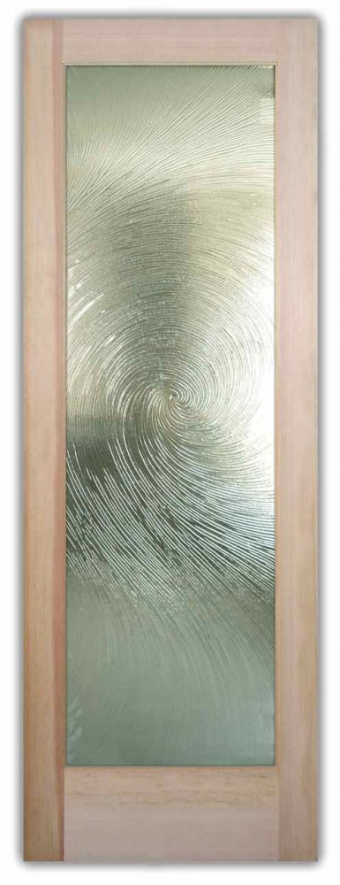 Cast Swirls II - Cast Glass CGI Oceanwave Interior