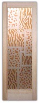 Cheetah Zebra Pattern