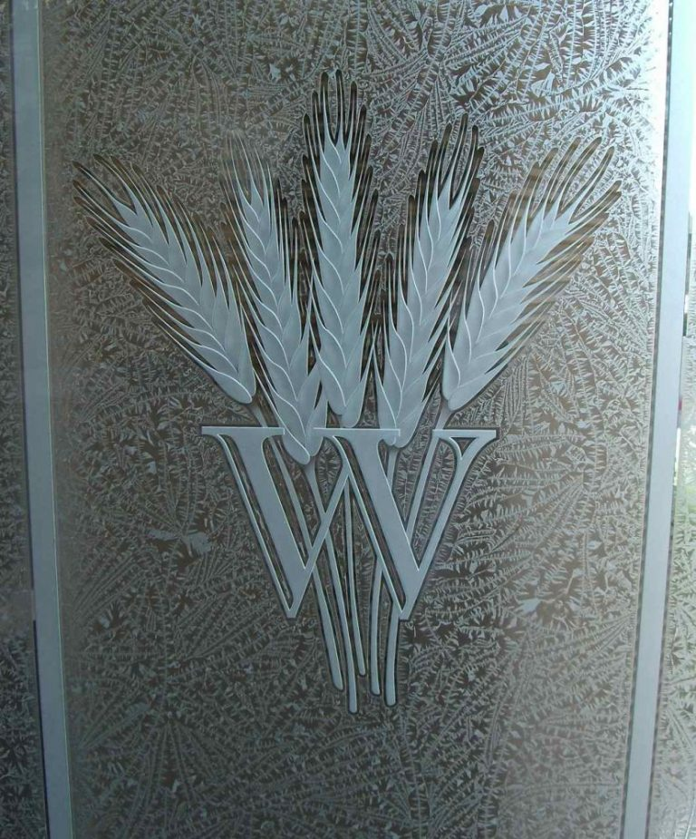 Wheat Monogram (similar look)