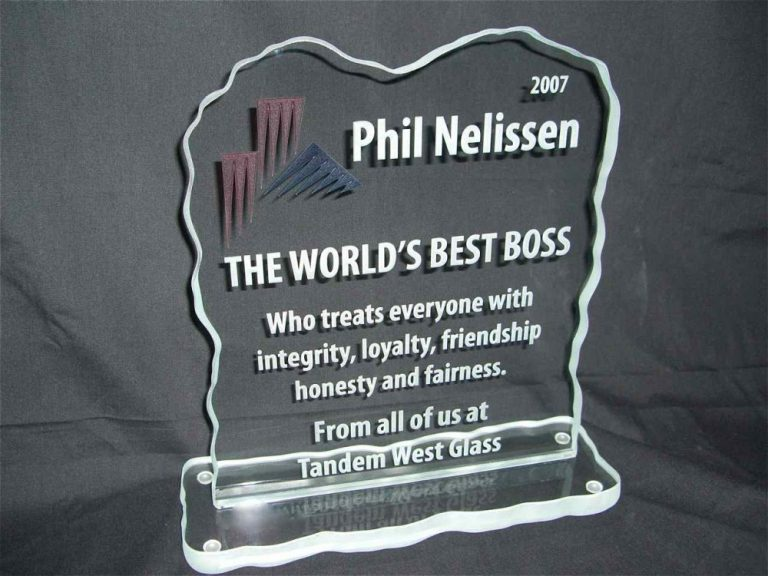 World's Best Boss (similar look)