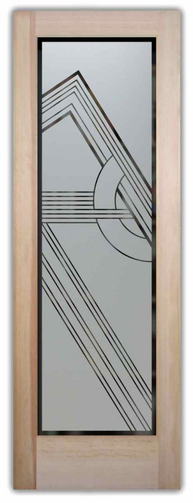 glass entry doors stained traditional
