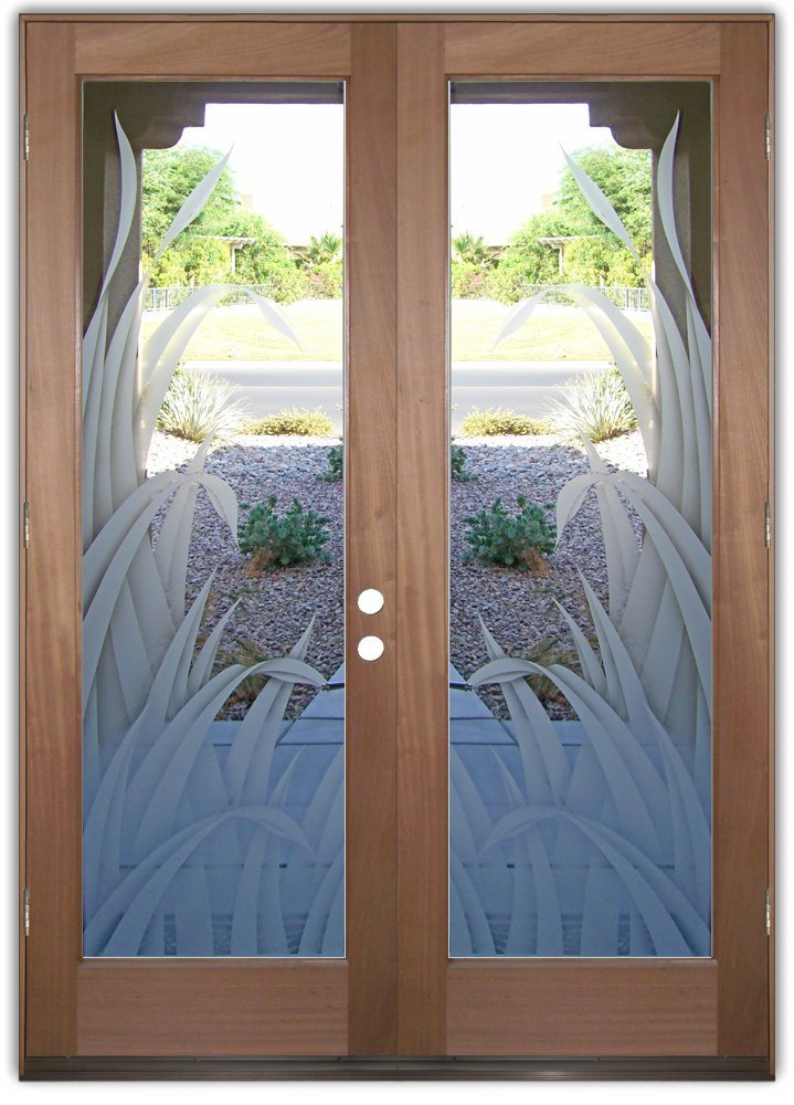 Double Entry Glass Doors