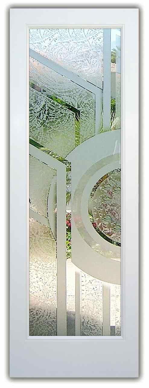 exterior etched glass doors trails color