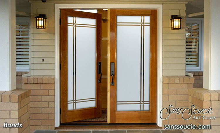 Impressive Frosted Exterior Glass Doors With Privacy Sans Soucie