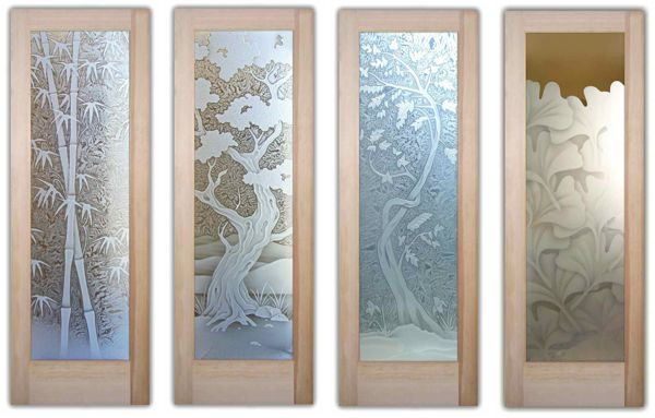 decor asian 3D doors 600 wide