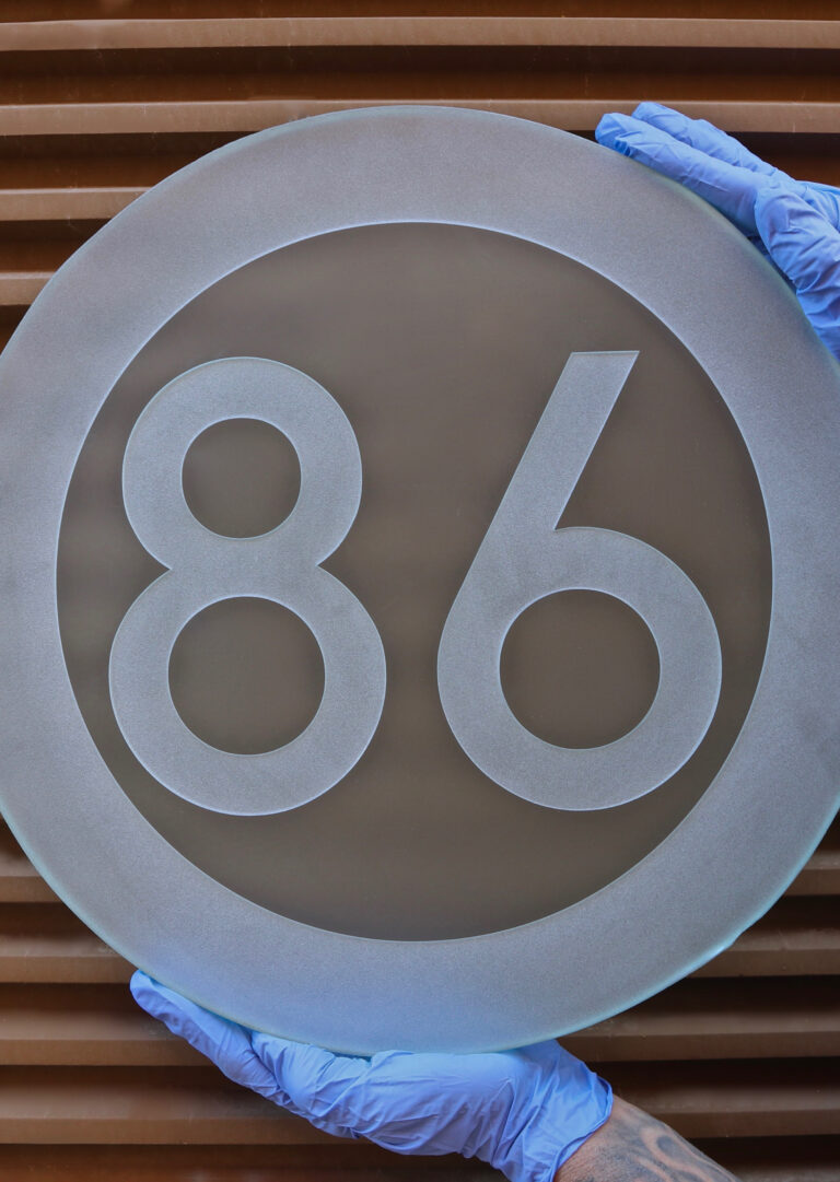 86 Number Sign  (similar look)