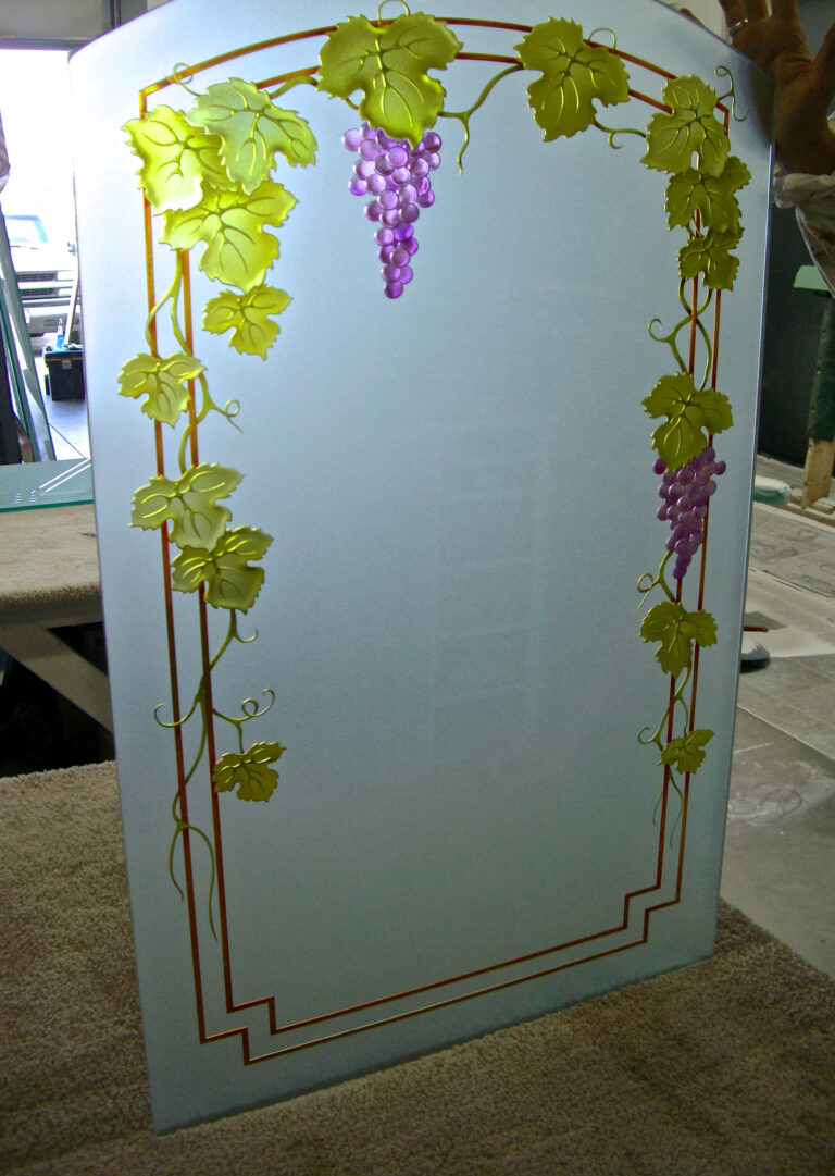 Vineyard Grapes Trellis