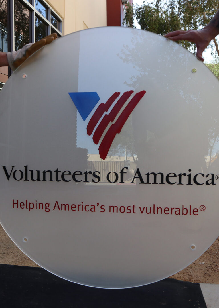 Volunteers of America (similar look)