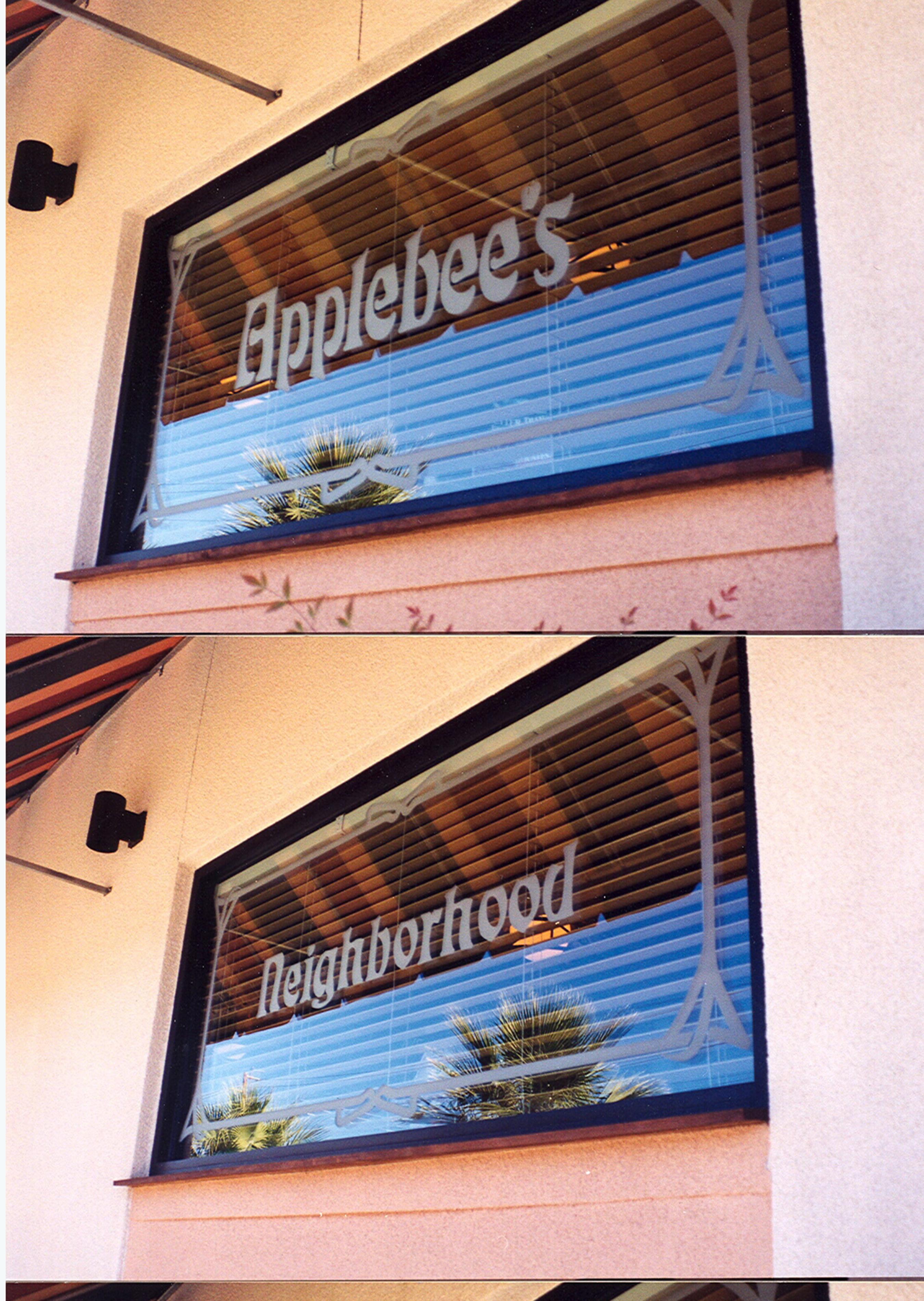 Applebee's (similar look)