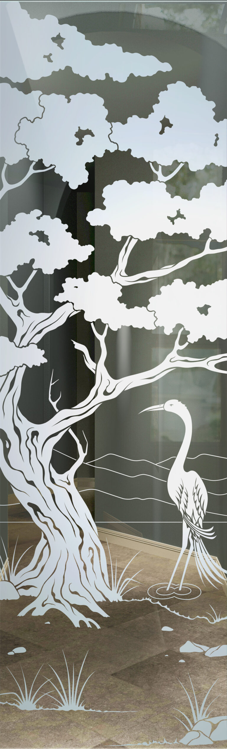 Bonsai Egret