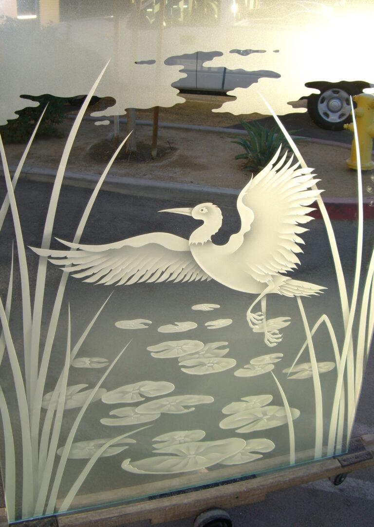 Dancing Egret