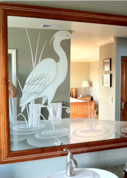 Prancing Egret
