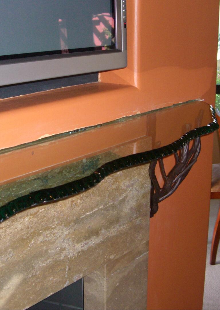 Chipped Mitred Polished Edge Irregular