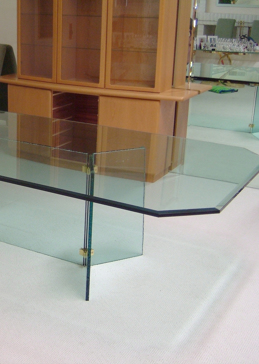Plain Glass Bevel Edge