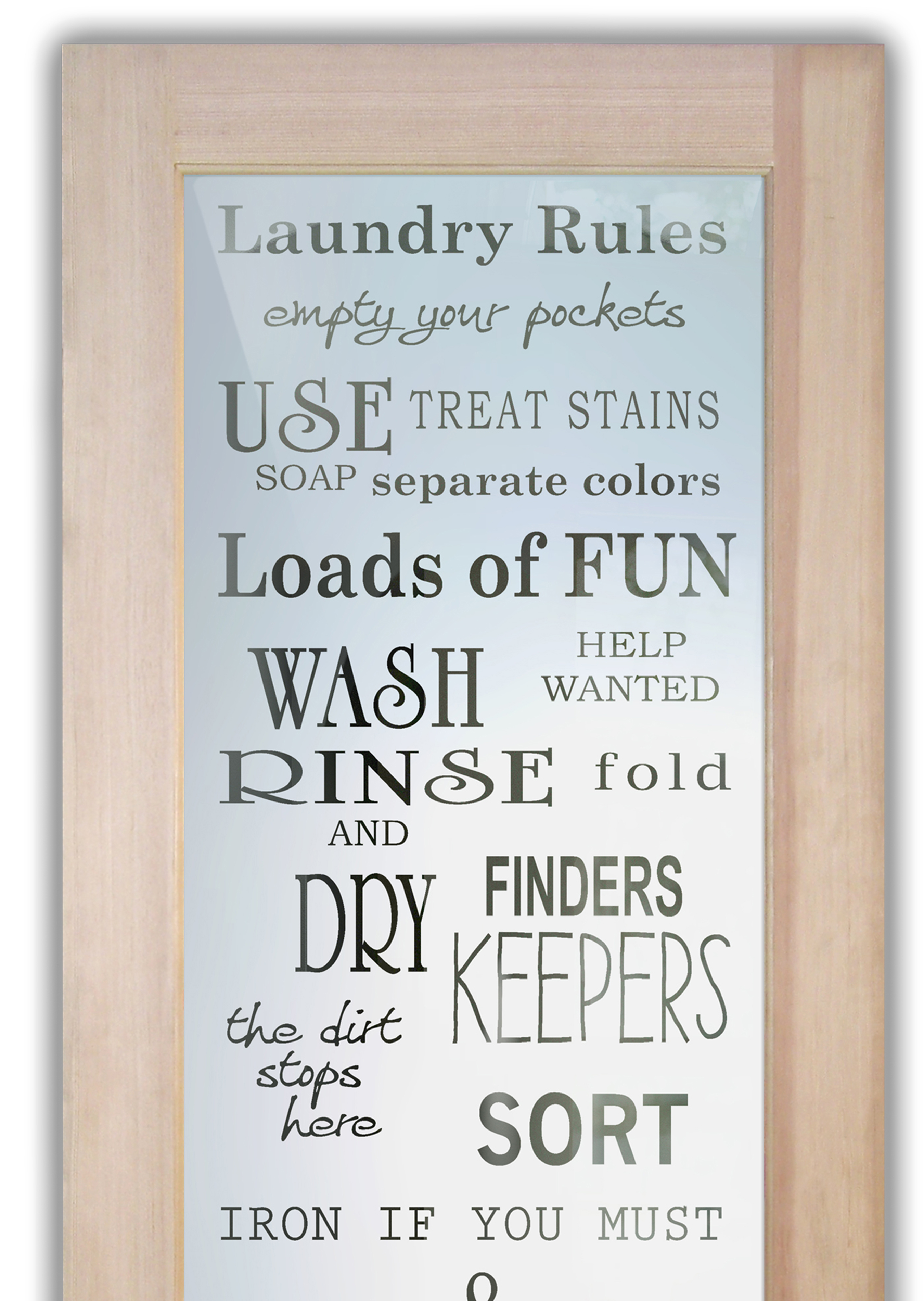 Laundry Rules