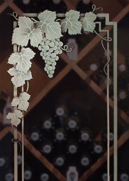 Vineyard Grapes Garland II Pair