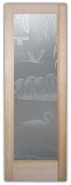 Swans on the Lake II