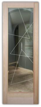 Triangles Pinstripe