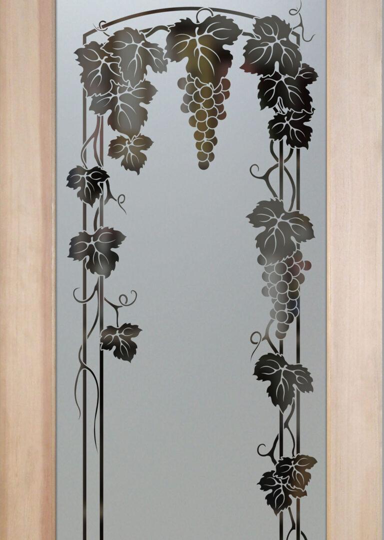 Vineyard Grapes Trellis