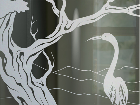 Bonsai Egret