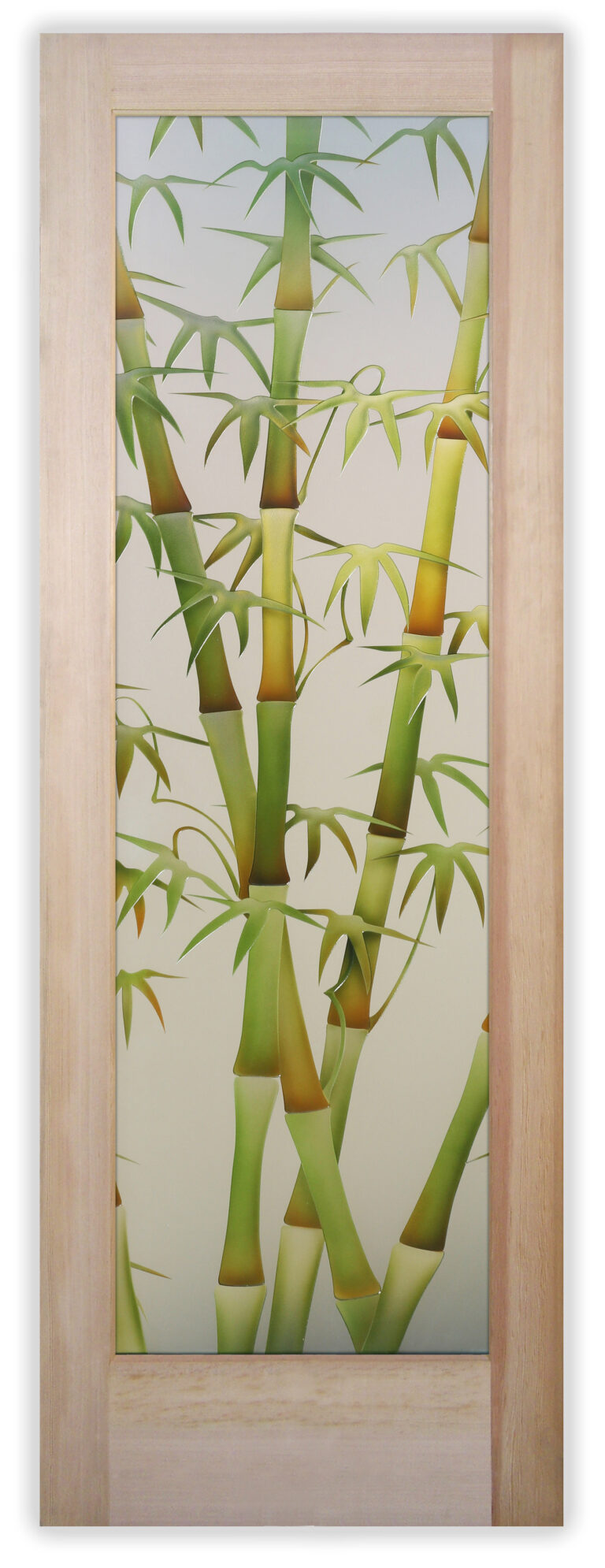 Bamboo Shoots II Green