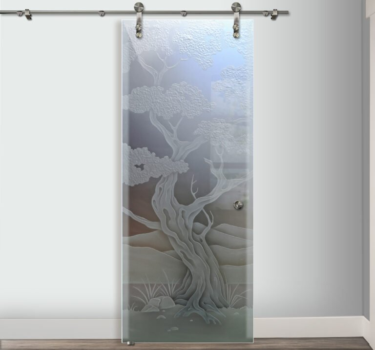 3d glass door type