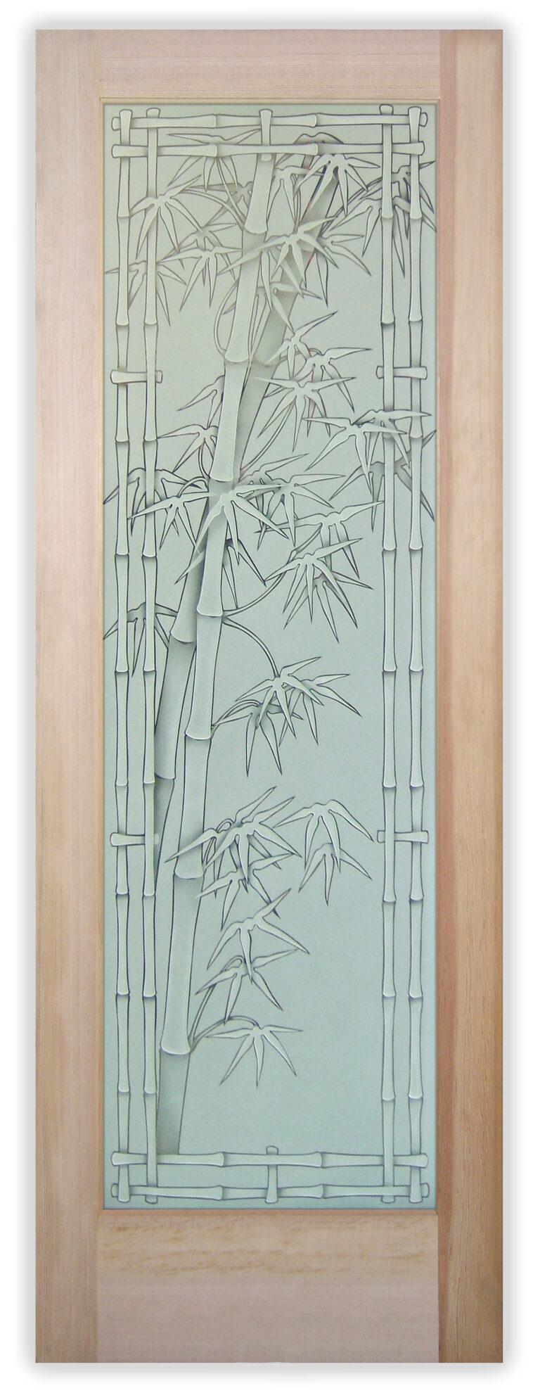 Bamboo Shoots Bordered