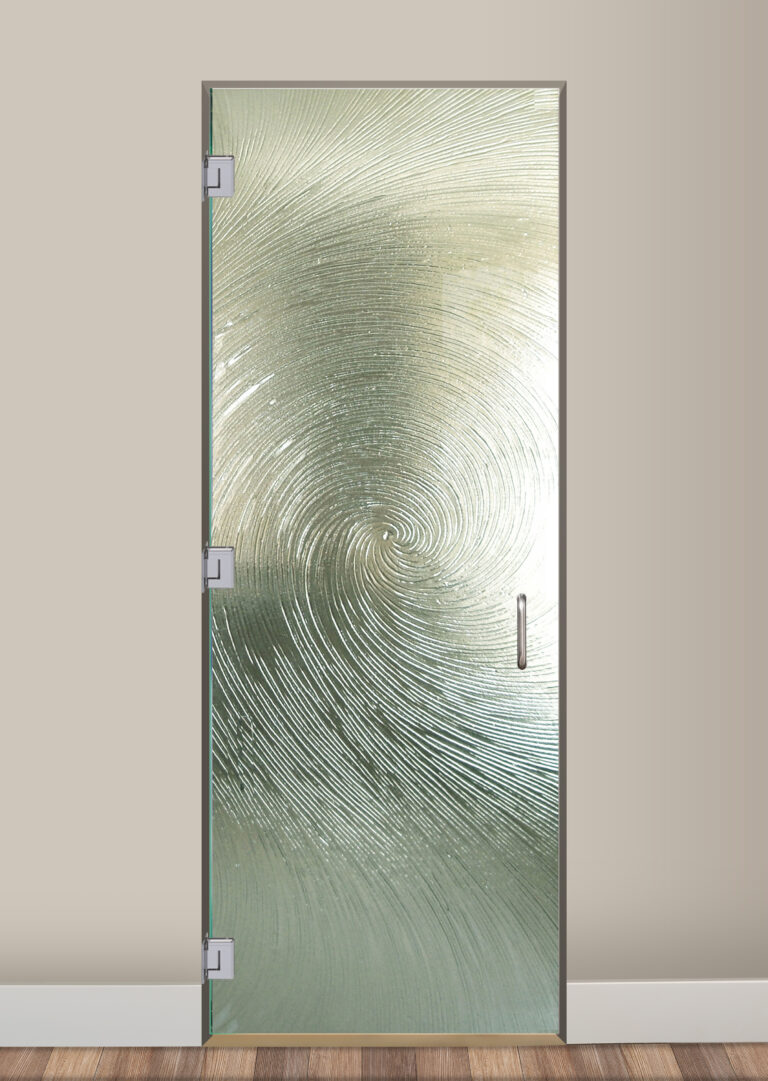 Cast Swirls II - Cast Glass CGI Oceanwave Interior