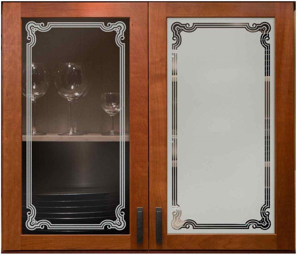 florence border cabinet glass sans soucie art glass