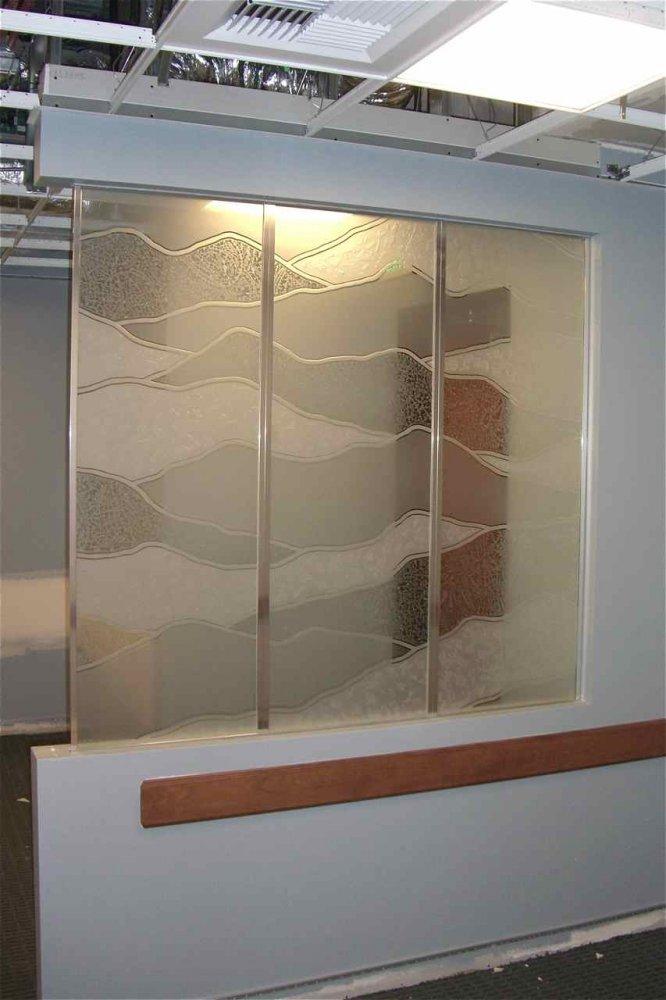 Divider Glass Sans Soucie Art Glass