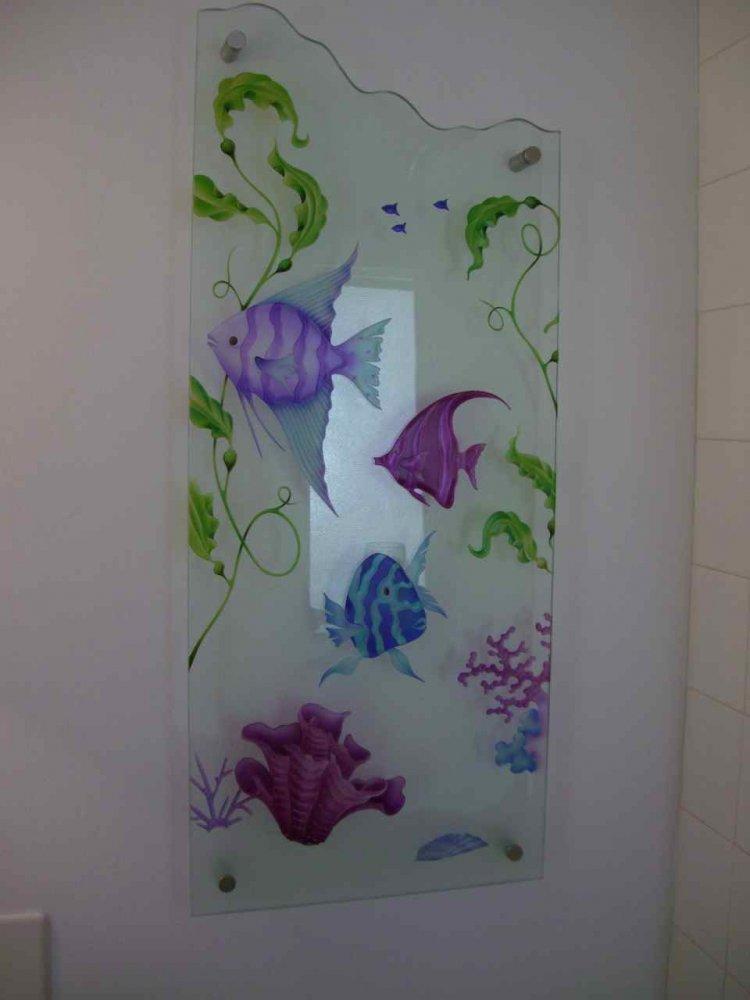 Purple Sea Glass Paint